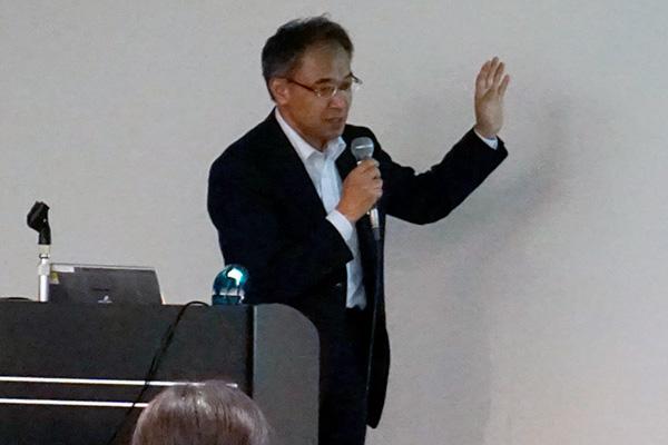 NPO法人ITS Japan 穐場 亨 氏