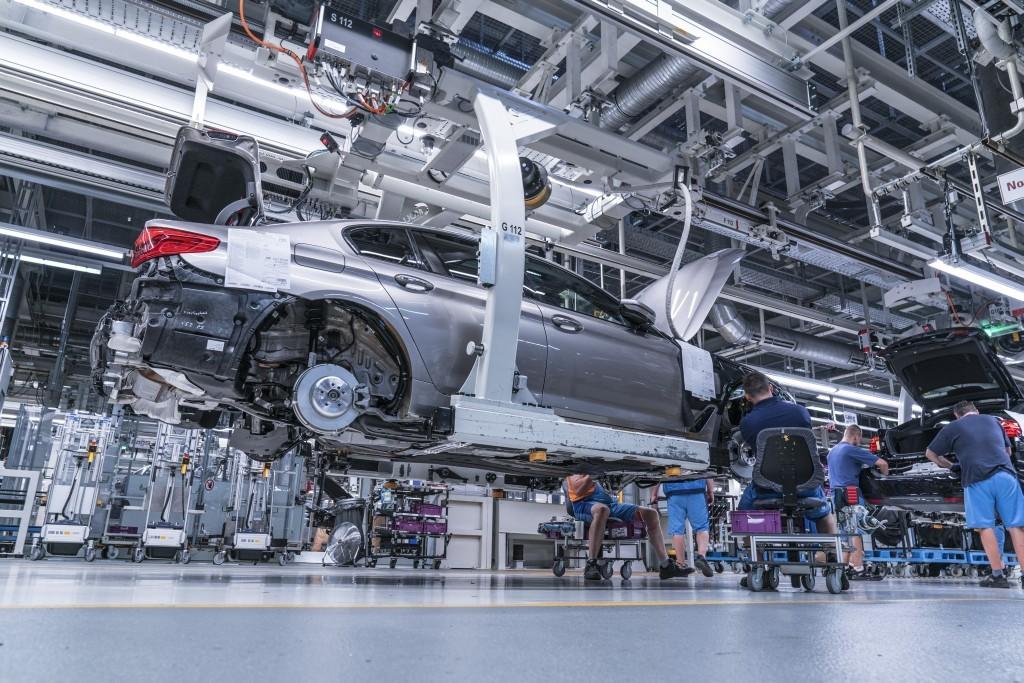 BMW 5シリーズ(G30)、生産工場の画像