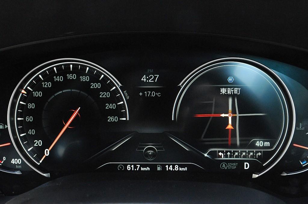 BMW 5シリーズ(G30)、メーターの画像