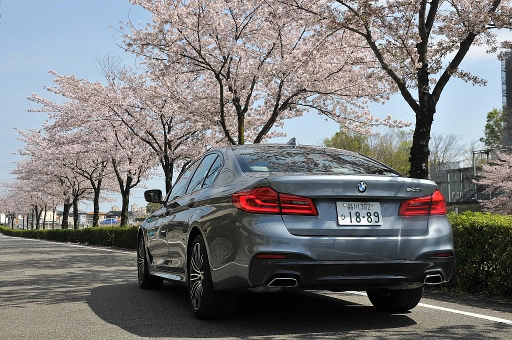 BMW 5シリーズ(G30)、540iの画像