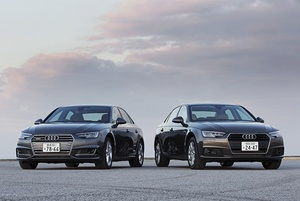 Audi アウディA4アバント2.0 TFSIクワトロと同スポーツ S line パッケージの写真