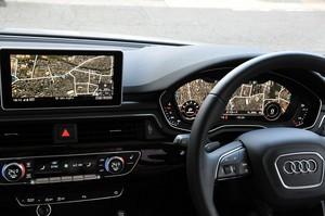 Audi ConnectでGoogleストリートビューを表示した写真