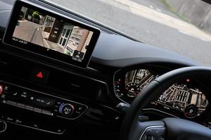 Audi アウディA4アバント2.0 TFSIクワトロのセンターコンソールの写真