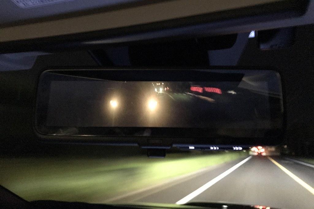 スバル レヴォーグ 1.6STIスポーツ アイサイトのスマートリヤビューミラー画像