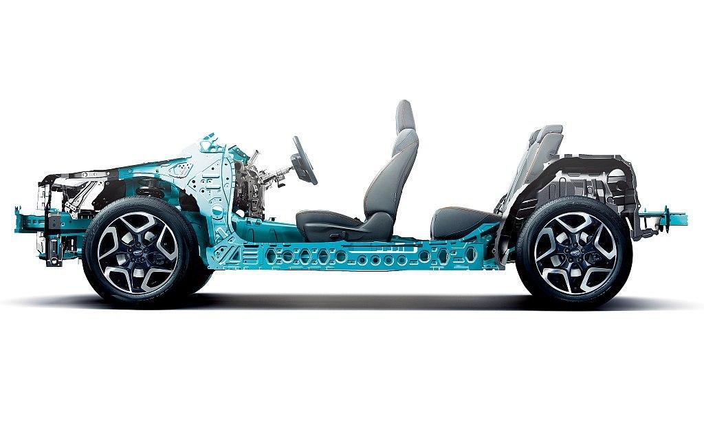 スバル グローバル プラットフォーム(Subaru Global Platform)の画像