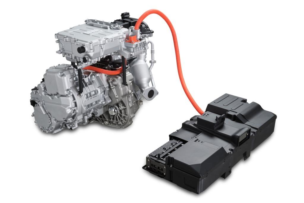 日産 ノート e-POWERのモーターの画像