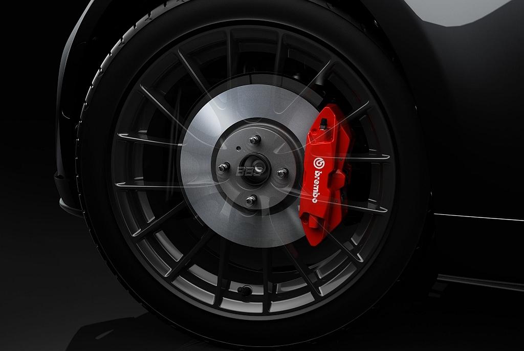マツダ ロードスター RF RS、ブレンボ製ブレーキ