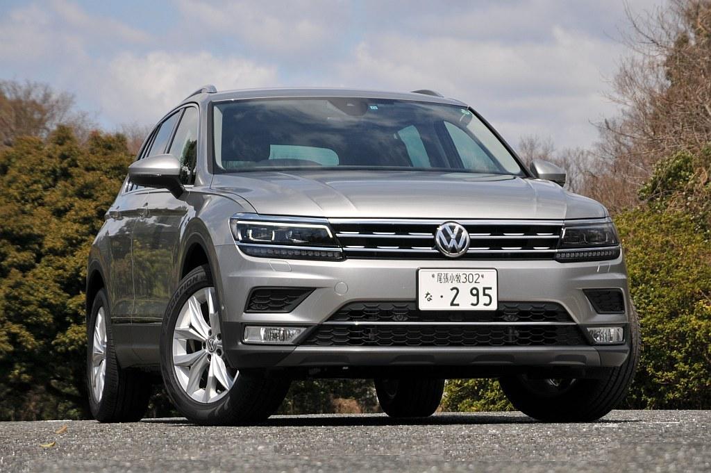 VW ティグアンの写真