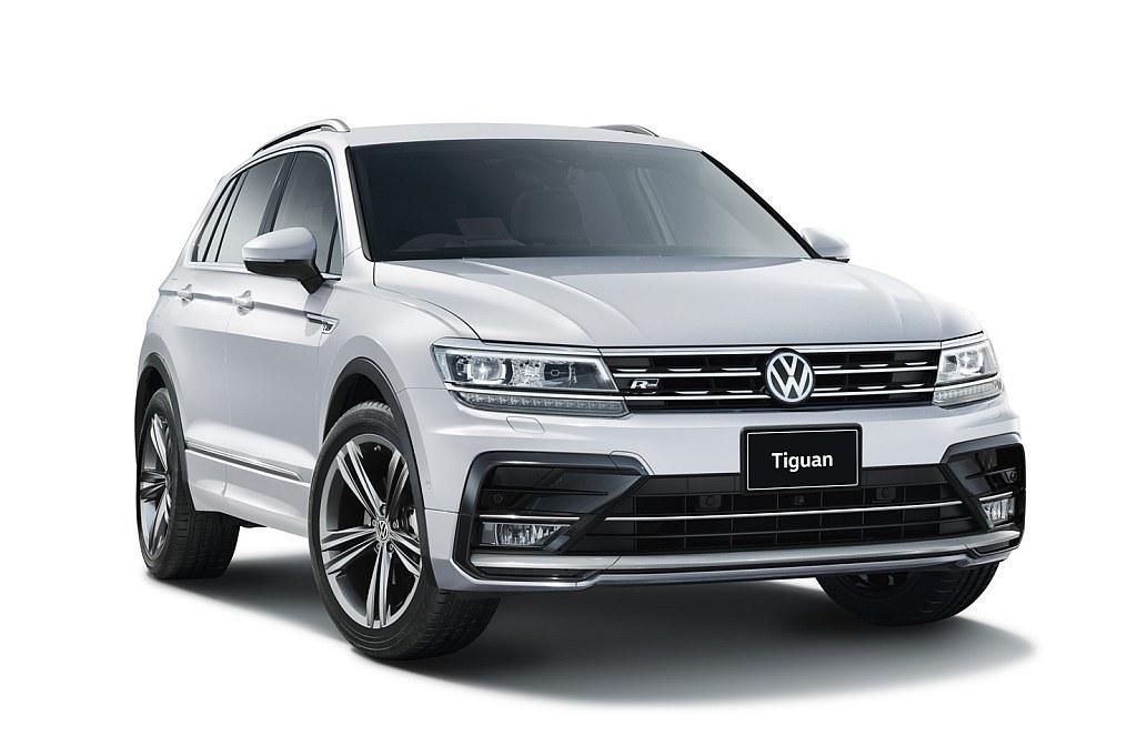 VW ティグアン Rラインの画像