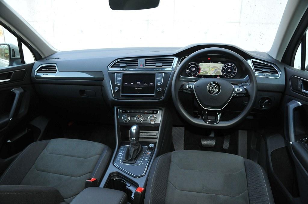 VW ティグアン、インパネの画像