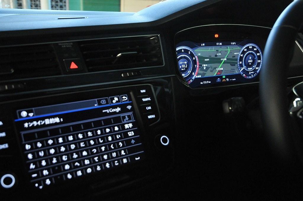 VW ティグアン、Android Autoの画像