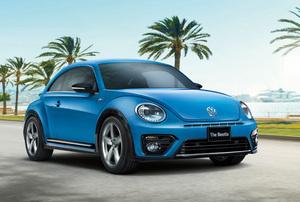 VW ザ ビートル、1.4Lエンジン搭載のR-ラインを追加:リリース情報